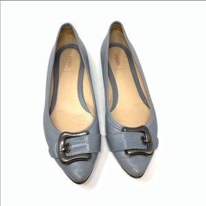 Fendi point toe flats size 40.5